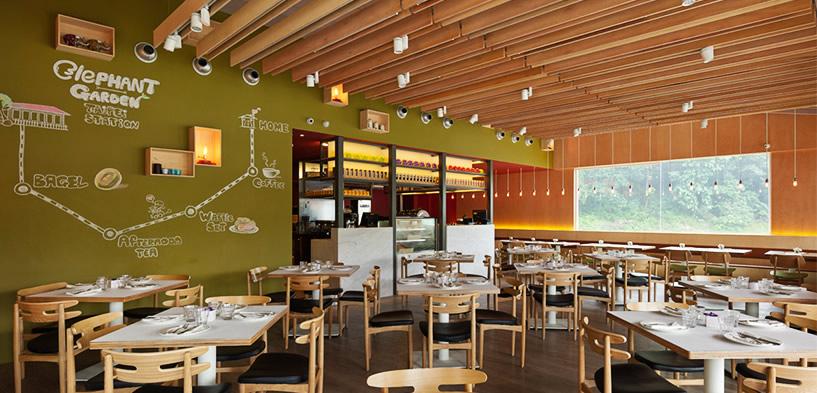 Elephant garden cafe hhc design solution for Garden cafe designs